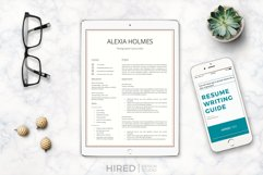 Resume and Cover Letter Template   Minimalist Resume CV Product Image 12