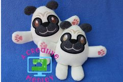 Peekaboo Pug SOFTIE Product Image 1