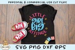 Little Girl Bundle of 6 SVGs Product Image 4