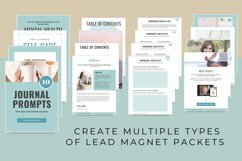 Workbook Lead Magnet Template for Coaches   Canva Templates Product Image 6