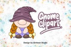 Gnome clipart, gnome png, sublimaion, Gnomestone, sticker Product Image 1