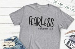 Strong | Salty | Loved | Chosen | Fearless | Christian SVG Product Image 3