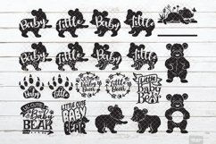 Baby Bear SVG Little Cub in SVG, DXF, PNG, JPEG Product Image 1