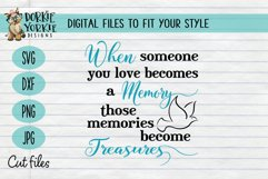When someone you love becomes a memory memories treasure Product Image 1