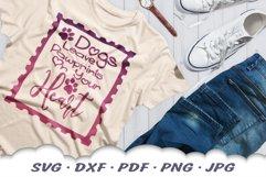 Dog Mom Postage Stamps SVG Bundle DXF Cut Files Product Image 3