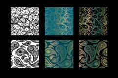 8 seamless paisley patterns Product Image 3