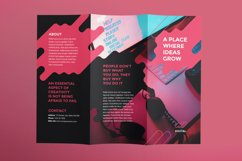 Digital Advertising Agency Brochure Trifold Product Image 2