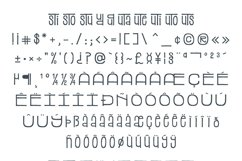 Stacked Font Product Image 6