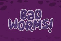 Wormmy Font Product Image 3