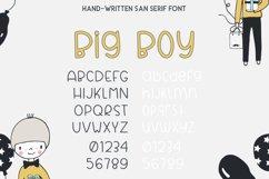 Big Boy Sans Serif Font Product Image 4