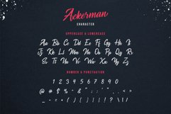 Ackerman Handlettered Script Font Product Image 4