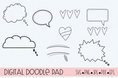 Procreate Stamp Brushes Journaling, Scrapbooking, Doodling Product Image 4