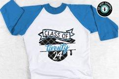 Class of 2024 Graduation Cap SVG Cut File Product Image 1