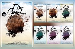 Dirty Grass Photoshop Flyer Template Product Image 1