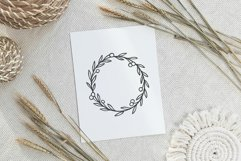 Wild berry wreath svg cut file Product Image 2
