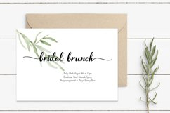 A Font Duo - LINEN - Thick Script paired with a serif Product Image 6