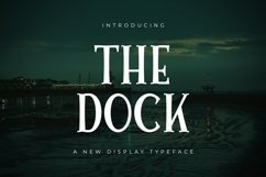 Web Font The Dock Product Image 1