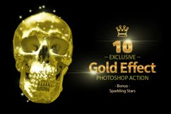 10 Gold & Sparkling Stars Product Image 4