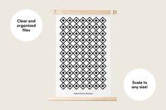 Monochrome Patterns Product Image 6