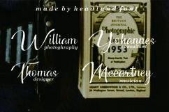 Headland // Script typeface Product Image 6