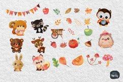 Autumn Clipart, Autumn clipart, pumpkin clipart Product Image 2