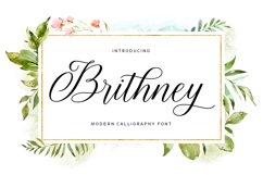 Brithney Script Product Image 1