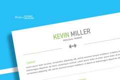Personal Trainer Resume Template | Cover Letter | Reference Product Image 2