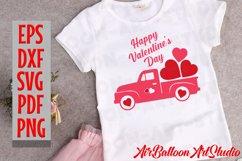 Valentines Day Truck Svg Valentines SVG Love Svg Valentine Product Image 7