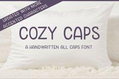 Cozy Caps - A handwritten all caps font Product Image 6