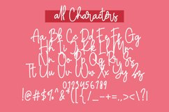 Amalisthica Anastasya Signature Font Script Product Image 3
