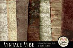 Digital Scrapbook Kit - Heritage Scrapbooking Clipart Product Image 2