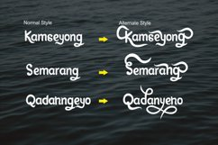 Kamseyong Display font Product Image 6