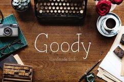 Goody—handwritten font Product Image 1
