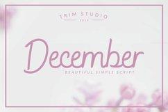 December - Sophisticated Monogram Font Product Image 1