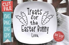 Easter Bunny Plate SVG, PNG, DXF, EPS Product Image 2