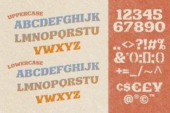 Hulberk - a Nostalgic Slab Serif Product Image 6