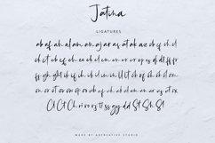 Jatina - Dynamic Signature Font Product Image 5