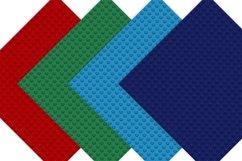 Building Blocks Digital Paper Patterns Product Image 3