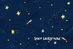 Space clip art/ Solar sistem kid Product Image 5