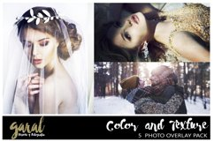 Color & Texture Photoshop Overlays 5 Pack, Photoshop overlay Product Image 1