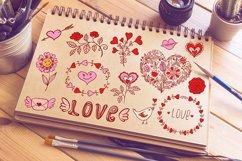 Valentine Doodles Product Image 1