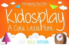 Cute Font Family - Kidosplay Product Image 1