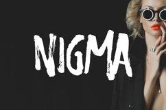 Nigma - Brush Font Product Image 1
