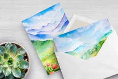 Spring Landscapes. Watercolor. Product Image 4