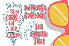 Summering- Web Font Product Image 6