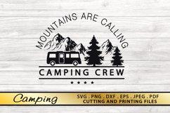 Camping SVG Bundle Camping SVG PNG DXF EPS Files Camp SVG Product Image 6