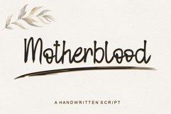 Motherblood - Handwritten Script Product Image 1