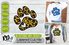 Trendy Dog Mom Bundle - Set of Layered Cricut SVG Cut Files Product Image 6