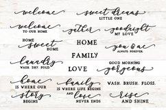 Family Sign Bundle, Family Quotes Bundle, Home Sign Bundle Product Image 1