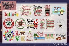 2018 Ultimate Christmas Bundle SVG, DXF, PNG, EPS Comm & Per Product Image 5